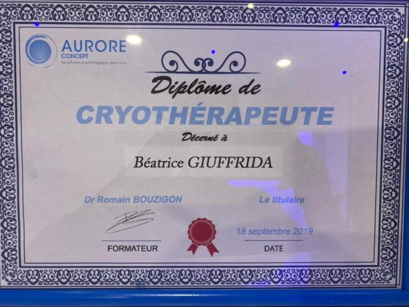 "Cryo'One VB  "" centre de cryotherapie corps entier"""