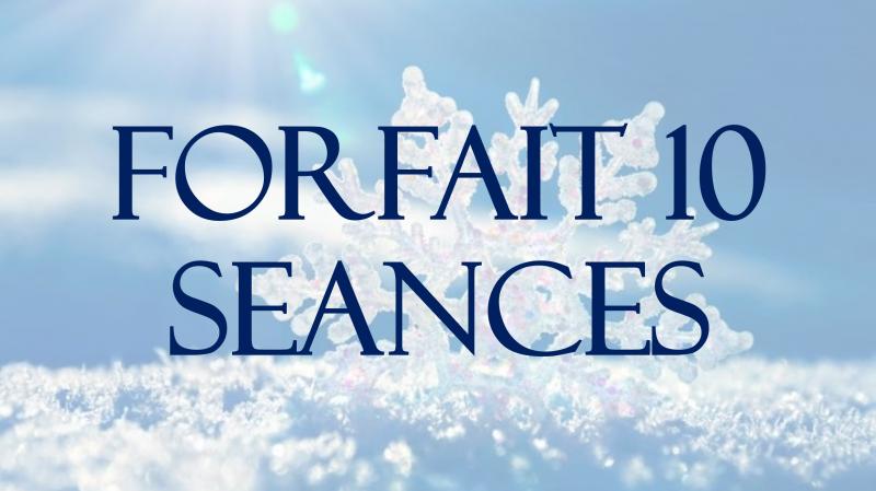FORFAIT 10 SEANCES + 2 SEANCES OFFERTES