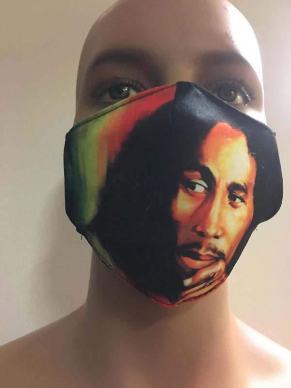 Masque Bob Marley