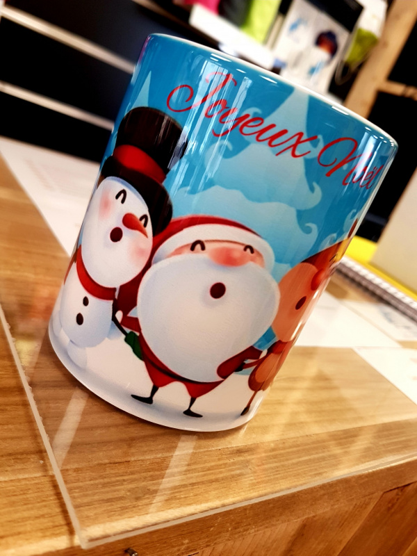 Mug motif Noël