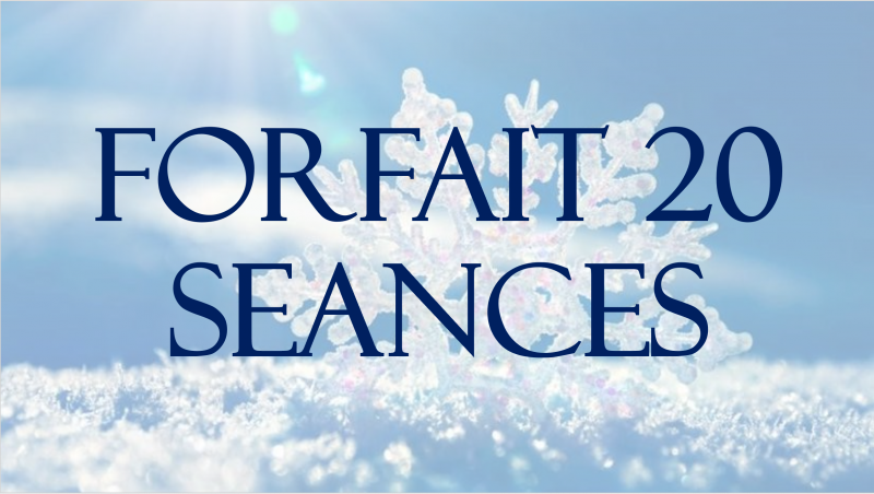 FORFAIT 20 SEANCES + 3 SEANCES OFFERTES + 1 EXPERIENCE SCANDINAVE OFFERTE