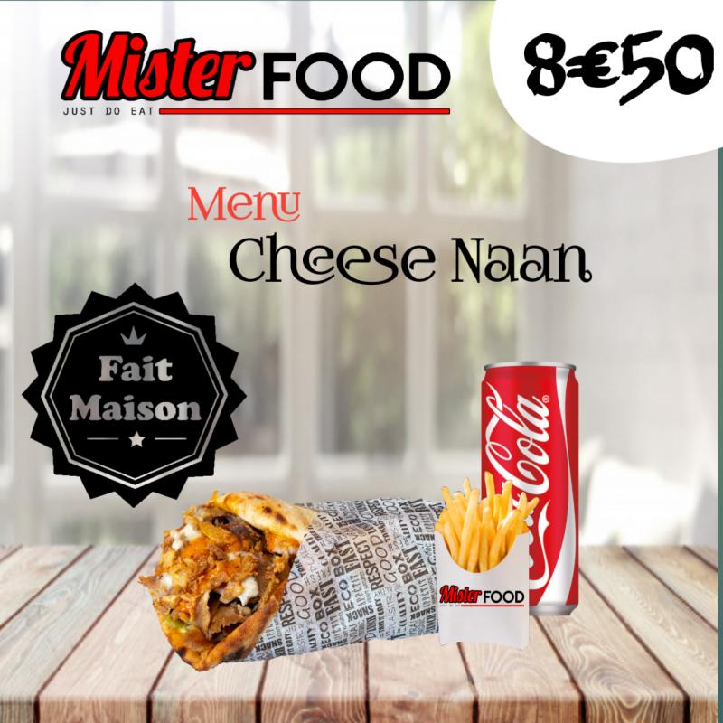 Menu Cheese Naan