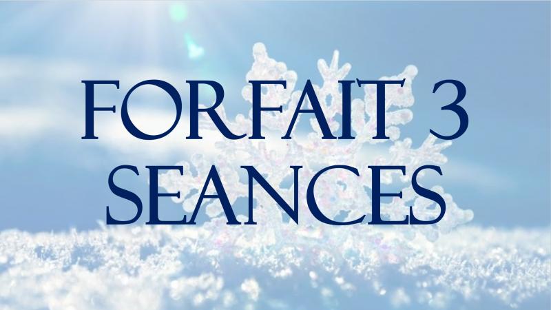 FORFAIT 3 SEANCES + 1 SEANCE DE SAUNA OFFERTE