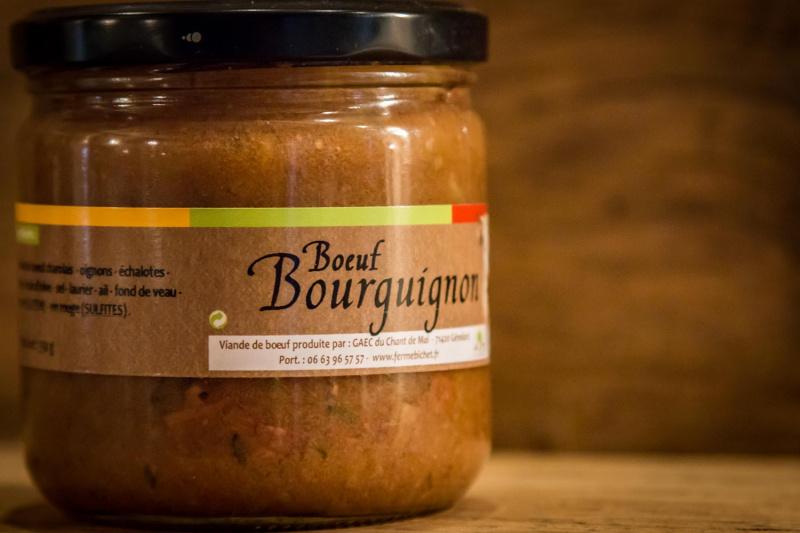 Boeuf bourguignon -  Bocal de 350G