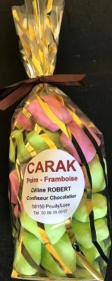 Carak Poire et Framboise - Sachet de 200g