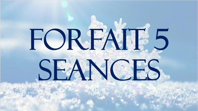 FORFAIT 5 SEANCES + 1 EXPERIENCE SCANDINAVE OFFERTE