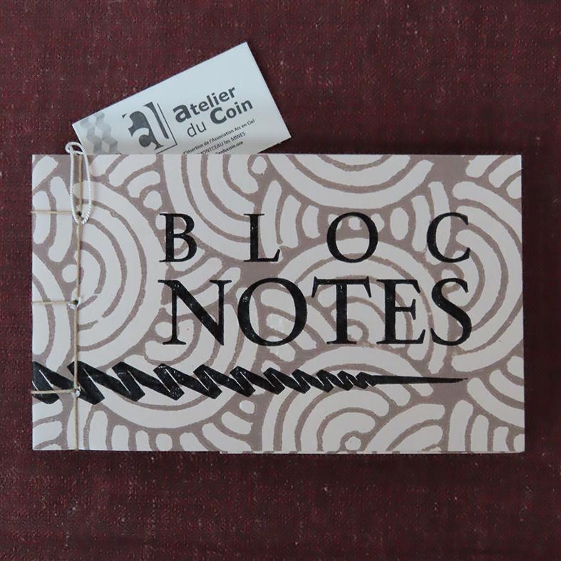 Bloc-notes beige