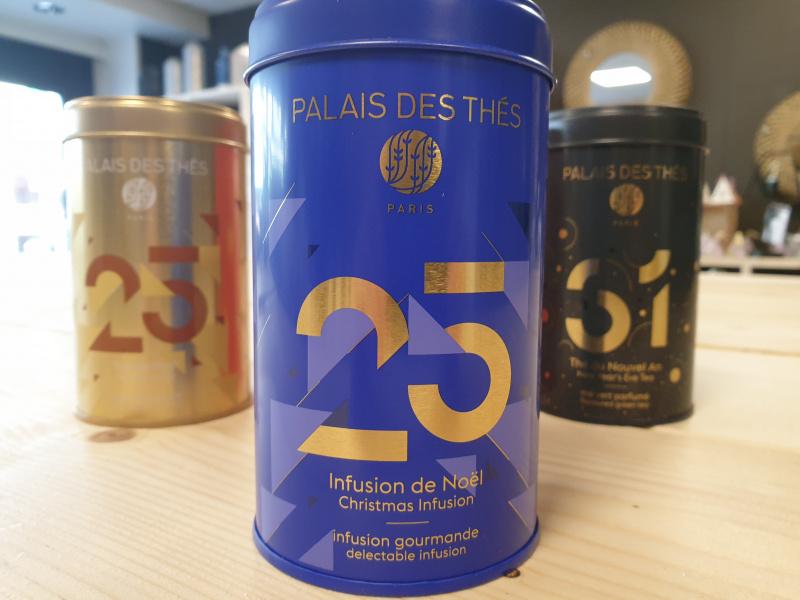 Infusion de noël Palais des thés   (boîte bleue 14)