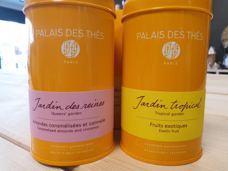 Infusion Jardin des reines Palais des thés (boîte orange 15.50)