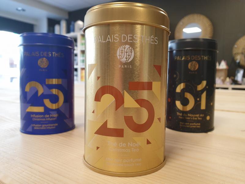 Thé de noël Palais des thés (boîte dorée N°25  14)