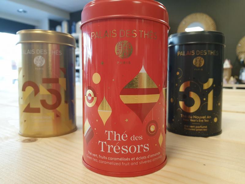 Thé des Trésors Palais des thés (boîte rouge 17)