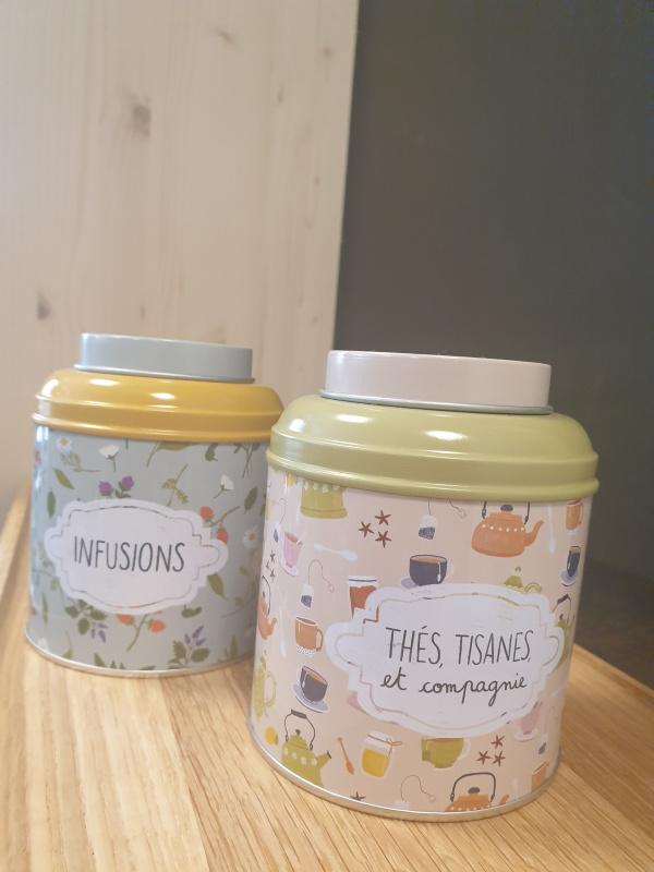 Boîte thés, infusions