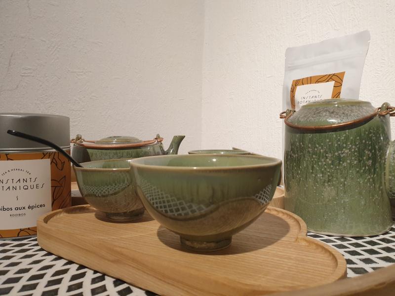 Bol à thé rond zaozam vert jade 14  (10 par 6 de hauteur)