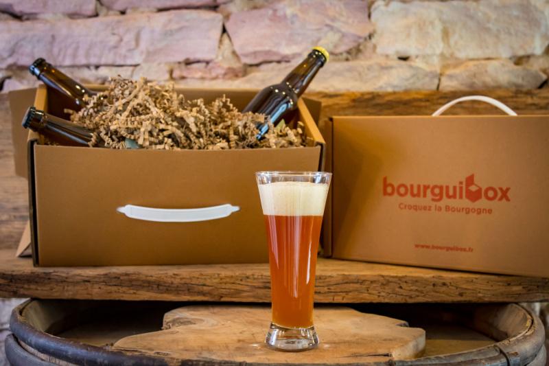 """Box La Brassée :  """"L'excellence des brasseurs bourguignons"""""""