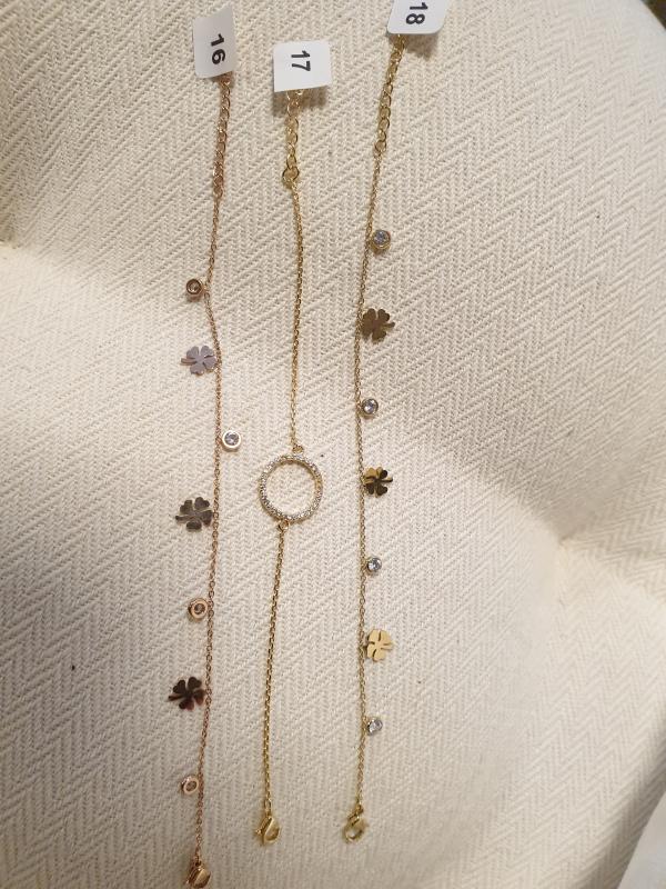 Bracelets 16-18