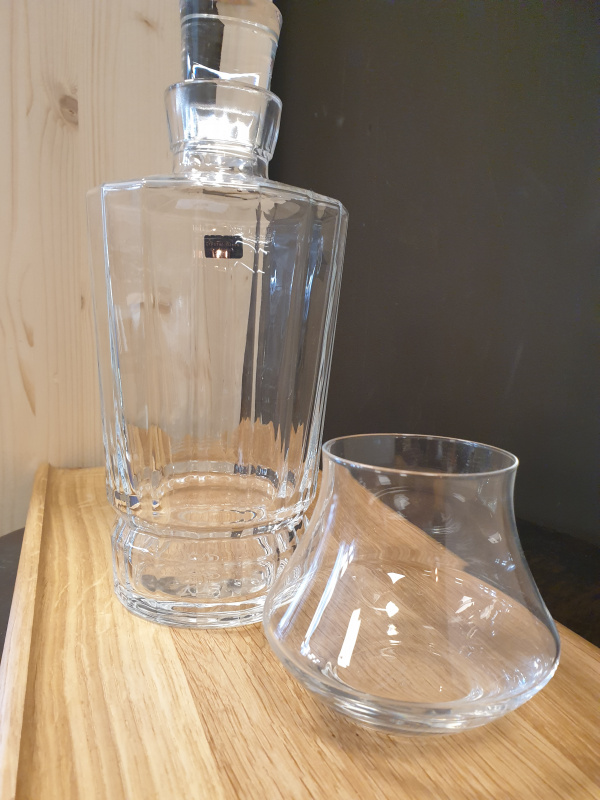 Carafe Whisky Cristal d'Arques
