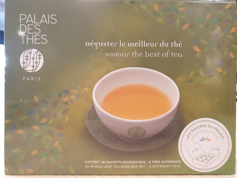 Coffret 36 sachets Palais des thés (boîte verte 29)