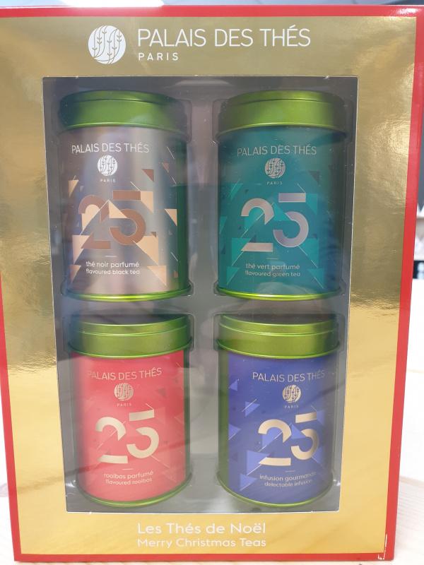 Coffret les thés de Noël Palais des thés 29