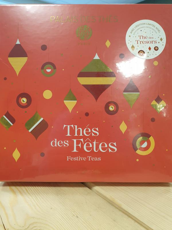 Coffret Thés des Fêtes Palais des thés 37