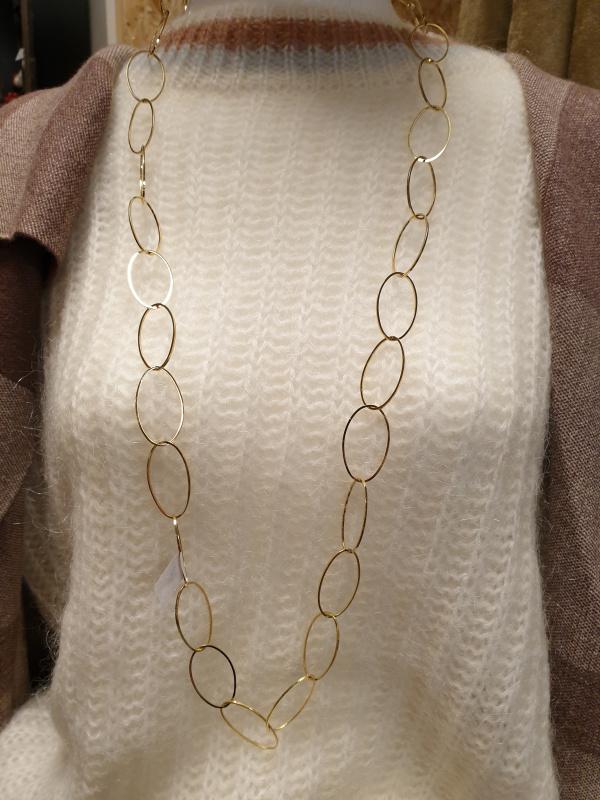Sautoir anneaux