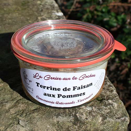 Terrine de Faisan aux Pommes - 120g
