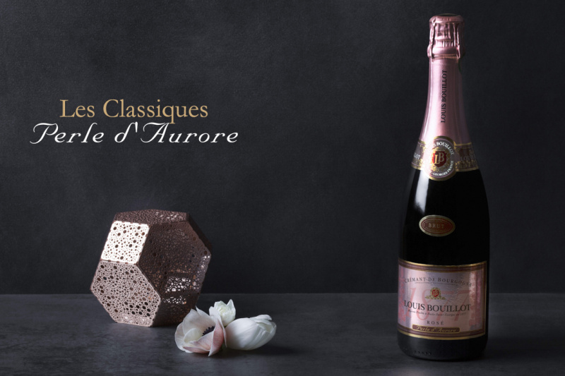 """Crémant rosé """"Perle d'Aurore' - 75cl"""