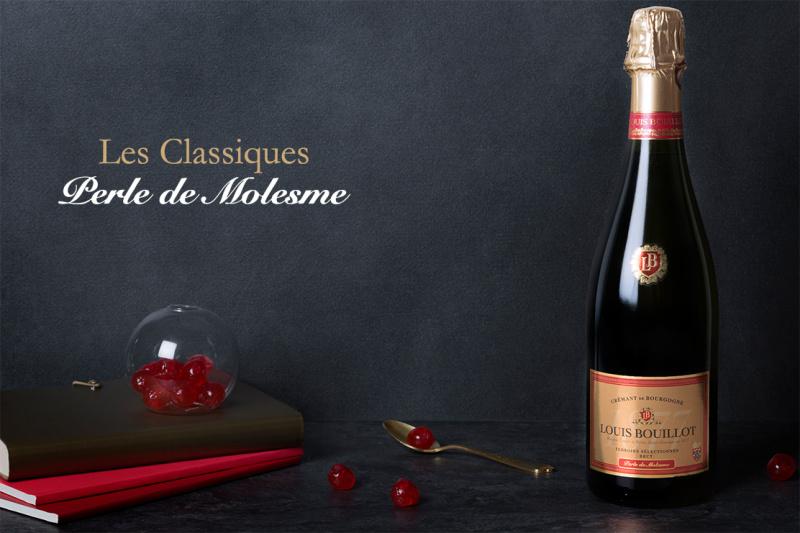 Crémant de Bourgogne brut Perle de Molesme - 75CL