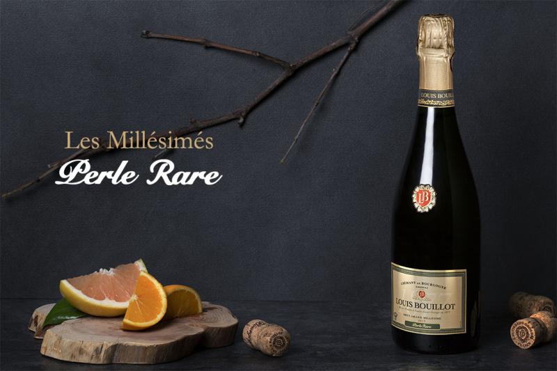 """Crémant de Bourgogne brut 2014 """"Perle Rare"""" - 75CL"""