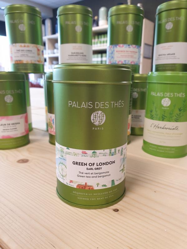 Green Of London Palais des thés boîte métal 11.70