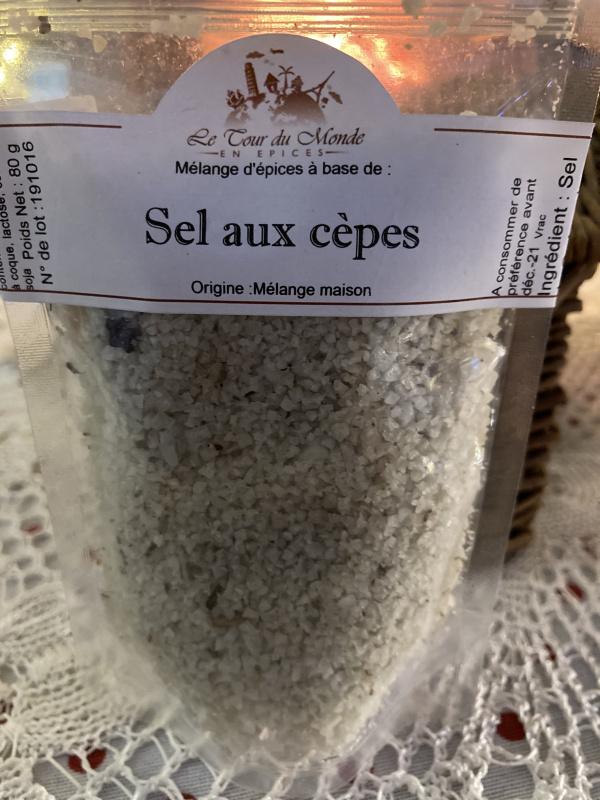 Sel au Cèpes