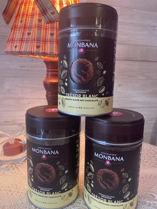 Chocolat en poudre Blanc
