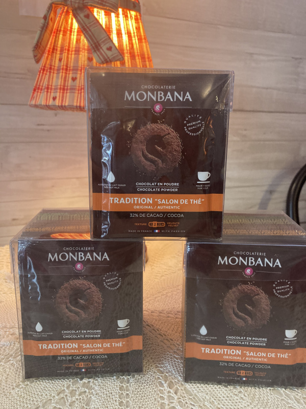 Mix de 15 dosettes de chocolat en poudre aromatisé