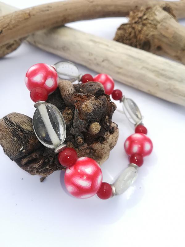 """Bracelet """"élastique rouge"""""""