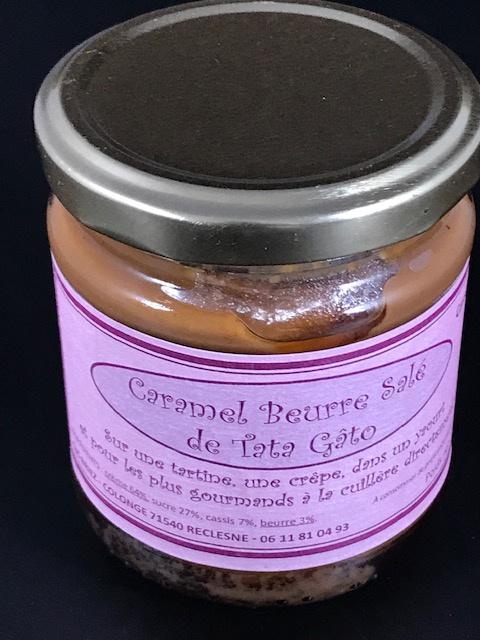 Caramel beurre salé Cassis - 240g