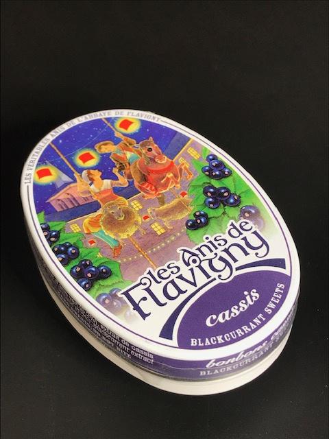 Anis de Flavigny - CASSIS - Boîte ovale 50 gr