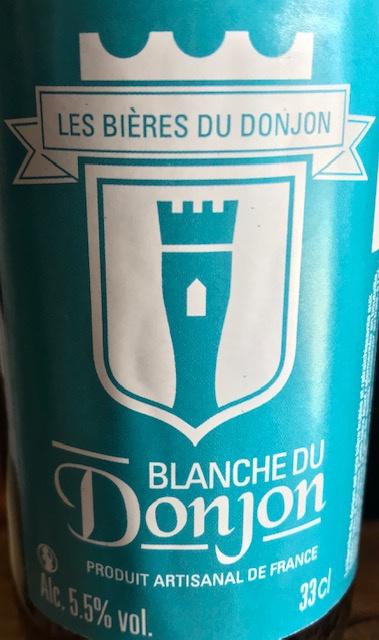 Blanche du Donjon  33 cl