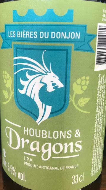 Houblons et Dragons  33 cl