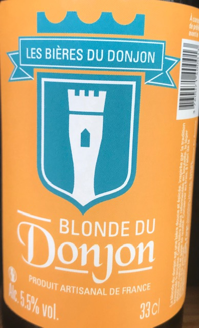 La Blonde du Donjon  33 cl