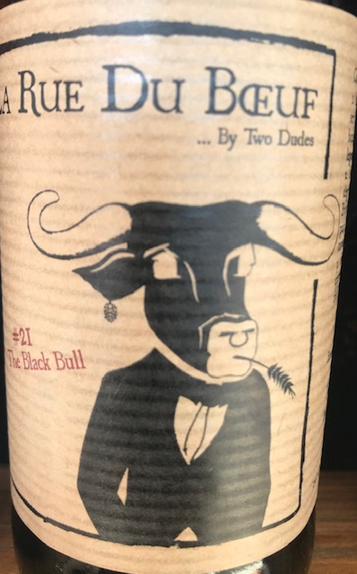 N° 21 Black Bull  33 cl