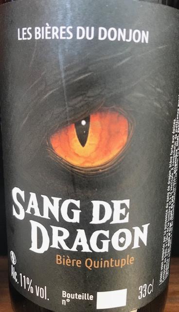 Le Sang du Dragon  33 cl