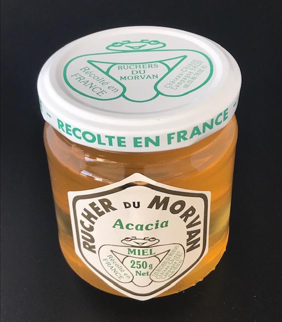 Miel d'acacia - pot 250g