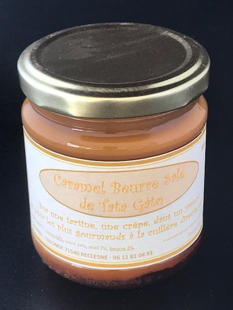 Caramel beurre salé Miel - 240g