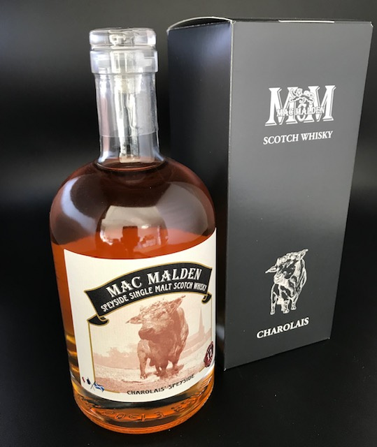 "Scotch Whisky ""Charolais Speyside"" single malt 43% - 50cl"
