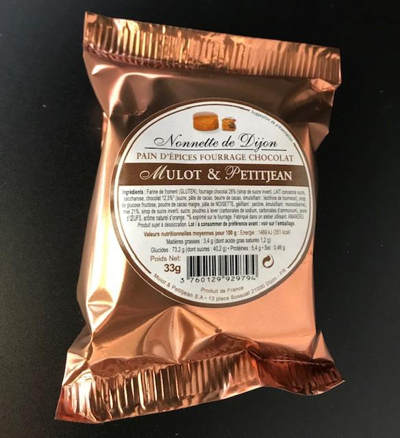 Nonnettes individuelles Chocolat 33 gr