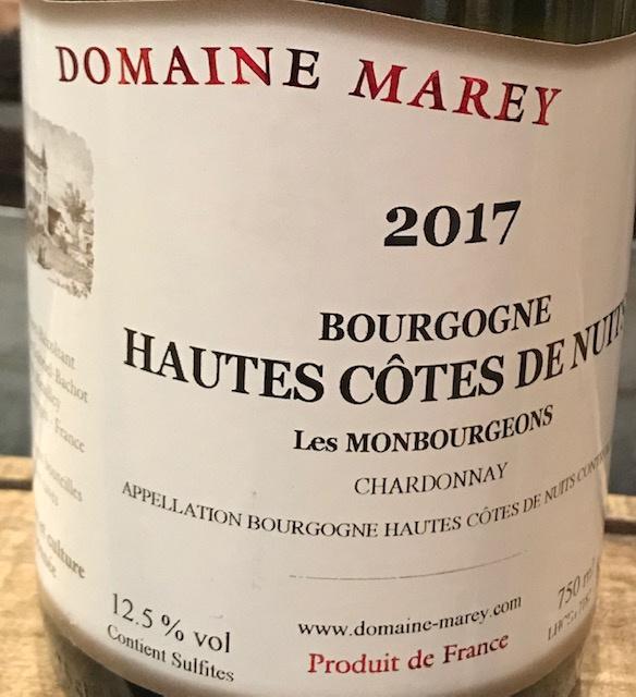 Hautes Côtes de Nuits 2017 - 75CL