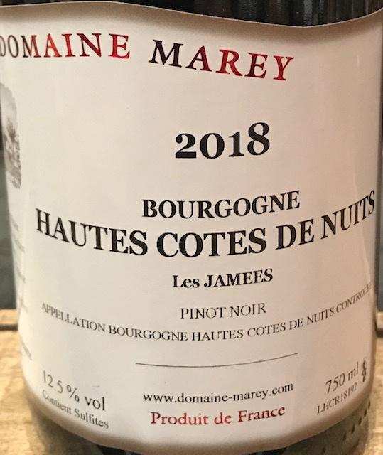 Hautes Côtes de Nuits 2019 - 75CL