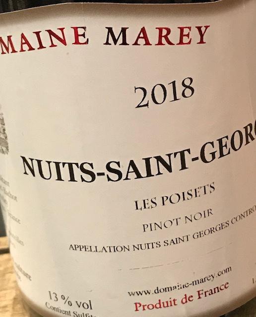 """Nuits st Georges 2018 """"Les Poisets"""" - 75cl"""