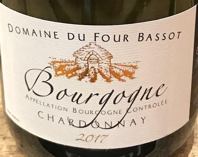 Bourgogne Chardonnay  2017 - 75cl