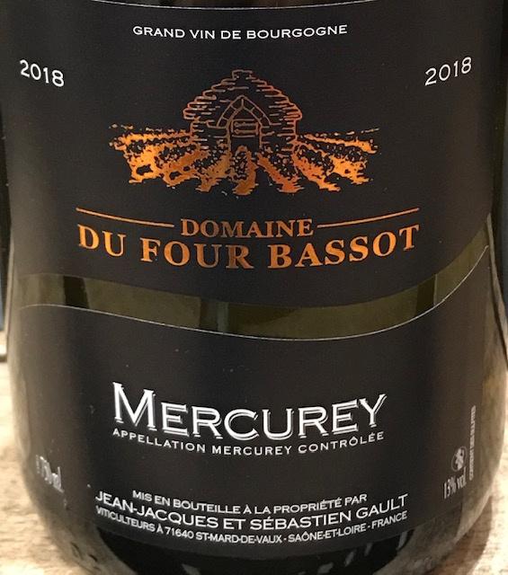 Mercurey 2018 - 75cl