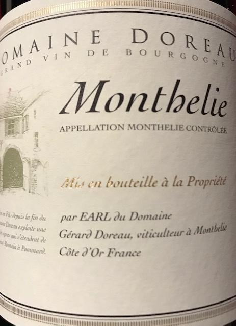 Monthélie   2017  - 75 cl
